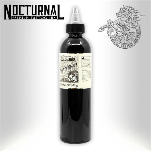 Nocturnal Ink 240ml - Lining and Shading Black