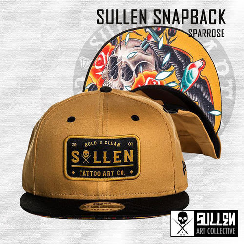 Sullen Snapback - Sparrose - Honey/Black