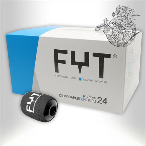FYT Disposable Foam Pen Grip 24pcs - 25mm - Short (45mm)