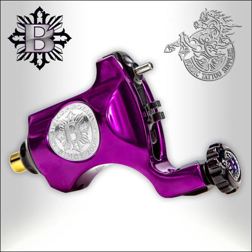 Bishop Rotary V6 - Beatnik Purple - RCA, 3.5 Stroke