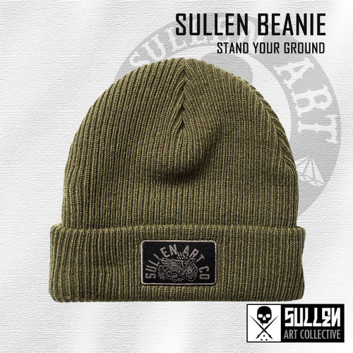 Sullen - Stand Your Ground Beanie - Olive