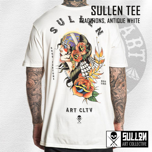 Sullen - Traditions Tee - Antique White