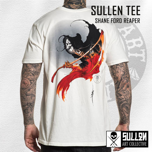 Sullen - Shane Ford Reaper Tee - Antique White