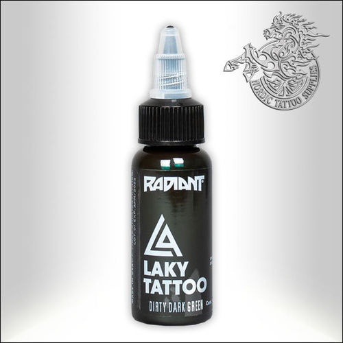 Radiant Laky, Dirty Dark Green 30ml