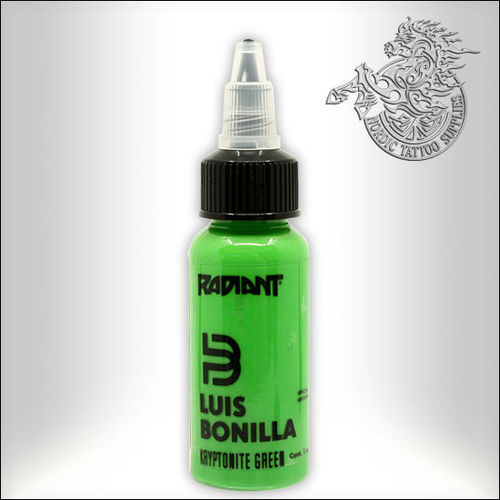 Radiant Luis Bonilla, Kryptonite Green 30ml