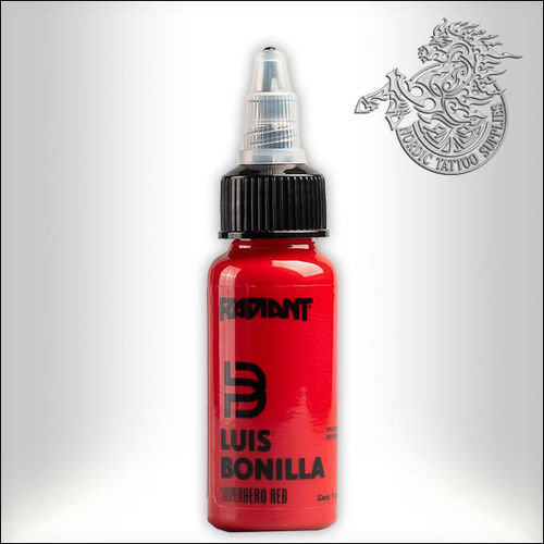 Radiant Luis Bonilla, Superhero Red 30ml