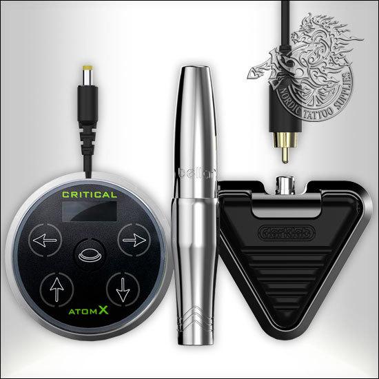 Microbeau Bellar Micropigmentation Machine Elite Set Silver Nordic Tattoo Supplies
