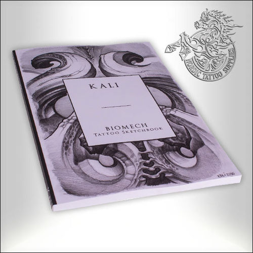 Tattoo Book - Kali - Biomech Tattoo Sketchbook