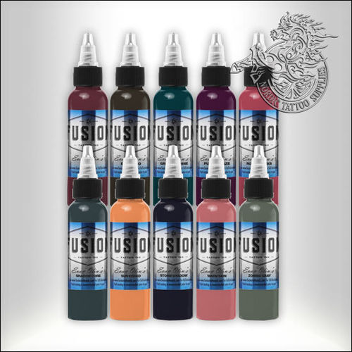 Fusion Ink Evan Olin 30ml Full Range Kit