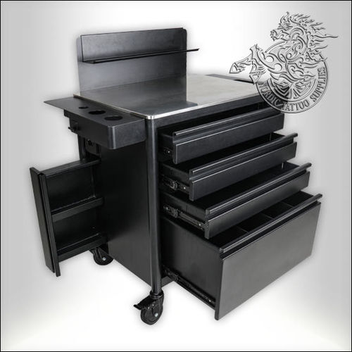 Kwadron Pro-Troll Workstation with 4 Drawers and Wheels