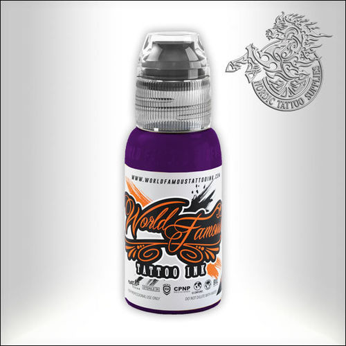 World Famous Ink - Ryan Smith, Jewel Set - Amethyst, 30ml