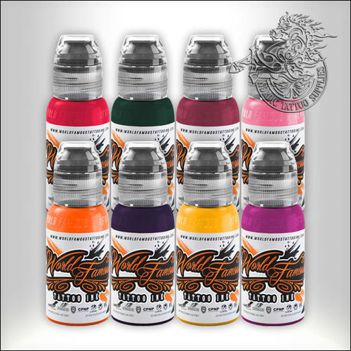 World Famous Ink Ryan Smith Flower Set 8x30ml