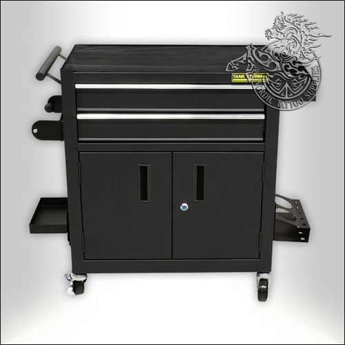 Tank Storm Workstation with 2 Drawers and Wheels - Fully Loaded