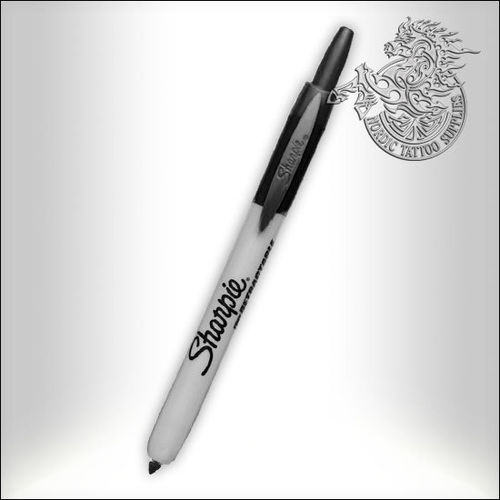 Sharpie - Retractable - Black