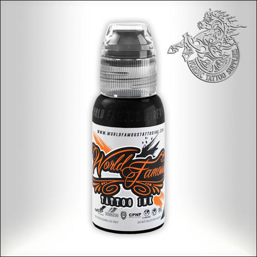 World Famous Ink - Black Outlining, 30ml