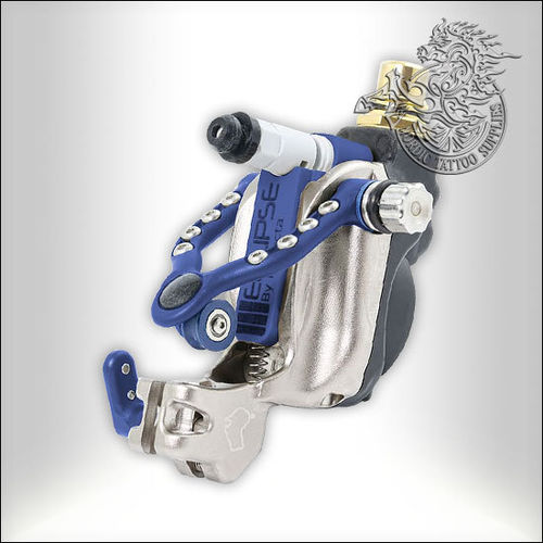 Inkjecta Eclipse Rotary Tattoo Machine - Black & Blue