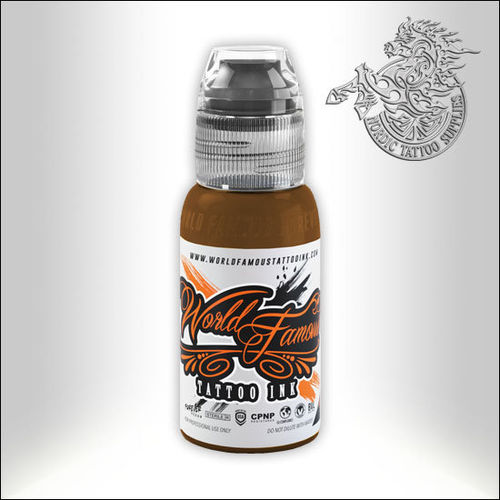 World Famous Ink - Debora Cherrys Musas - Gea, Brown, 30ml