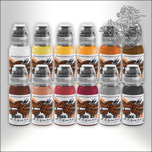 World Famous Ink Debora Cherrys Musas Set 12x30ml
