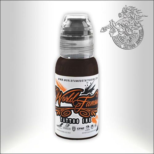 World Famous Ink - Dark Chocolate, 30ml