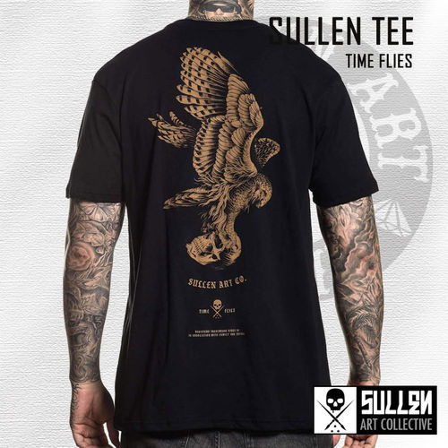 Sullen - Time Flies Tee - Black