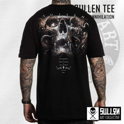 Sullen - Annihilation Tee - Black