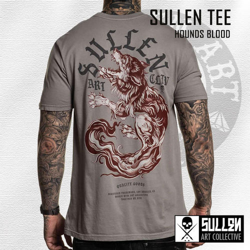 Sullen - Hounds Blood Tee - Warm Grey