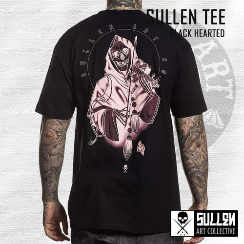 Sullen - Black Hearted Tee - Black