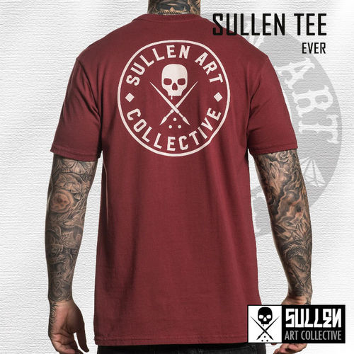 Sullen - Ever Tee - Burgundy