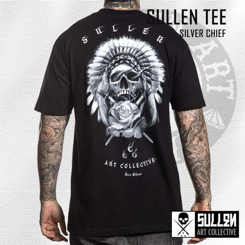 Sullen - Silver Chief Tee - Black