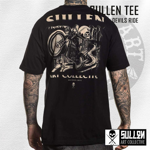 Sullen - Devils Ride Tee - Black