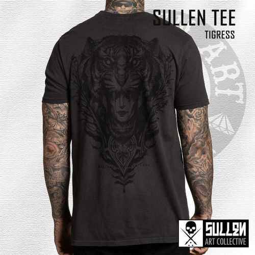 Sullen - Tigress Tee - Vintage Black