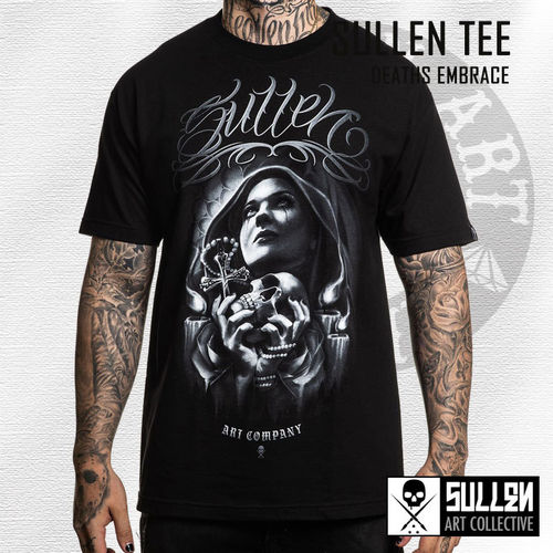 Sullen - Deaths Embrace Tee - Black