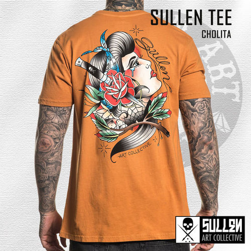 Sullen - Cholita Tee - Texas Orange