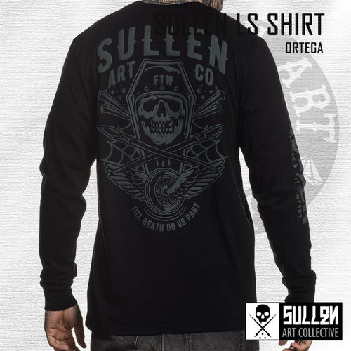 Sullen - Ortega Long Sleeve Shirt - Black
