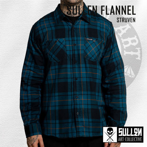 Sullen - Struven Flannel - Black/Blue