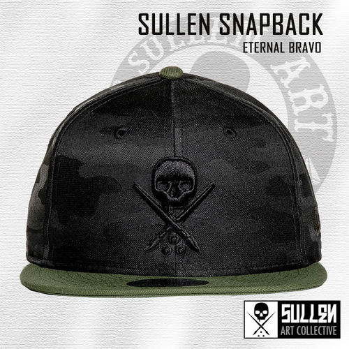 Sullen Snapback - Eternal Bravo - Black/Military Green