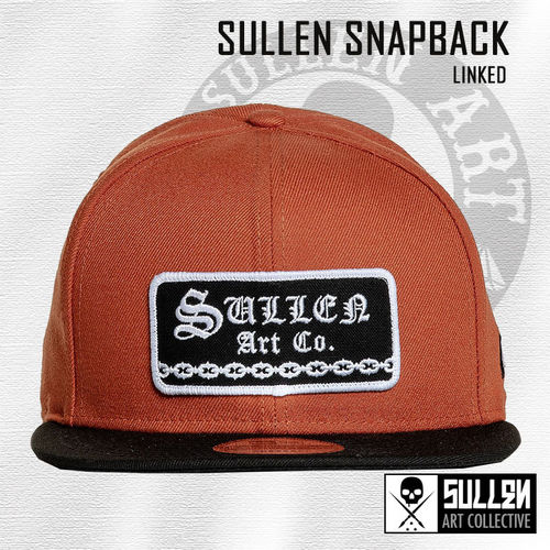 Sullen Snapback - Linked - Texas Orange