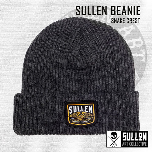 Sullen - Snake Crest - Charcoal Heather