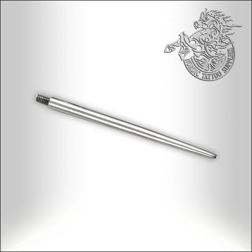 "Threaded 1"" Pin Taper for 16G with .80mm Threading"