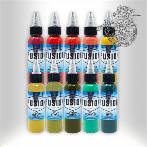 Fusion Ink Shige 30ml Full Range Kit