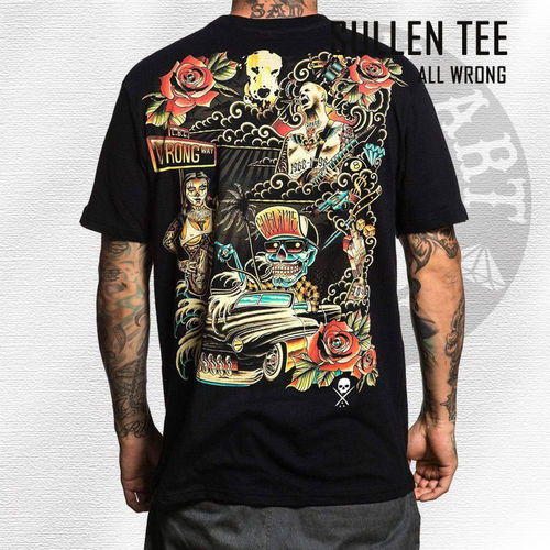Sullen - All Wrong Tee - Black