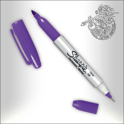 Sharpie Fine+Ultra Fine Twintip - Purple