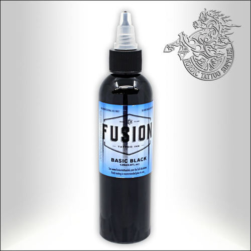 Fusion Ink 120ml Basic Black