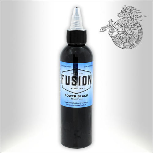 Fusion Ink 120ml Power Black