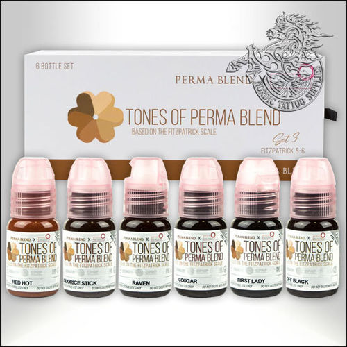 Perma Blend Fitzpatrick Set 3 (for 5 & 6) 6x15ml