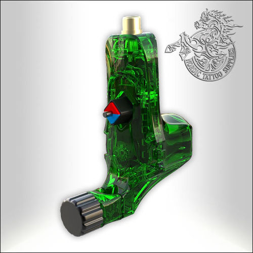 Bez Little Ego V2+ Rotary Machine - Crystal Green