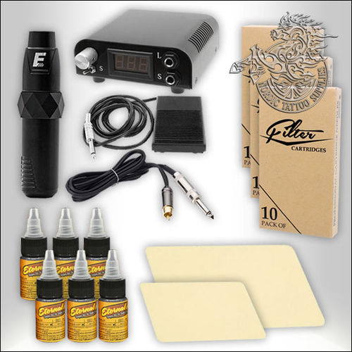 EZ P4SE Tattoo Pen Starter Set with Power Supply