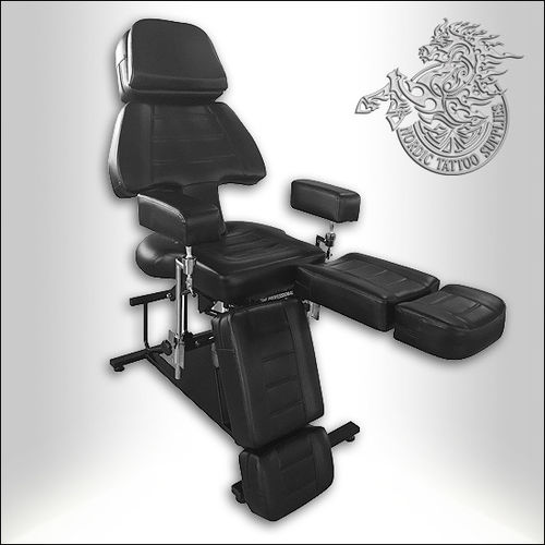 Professional Client Chair - Low Frame Version - Black