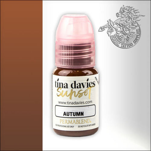 Perma Blend Permanent Makeup Pigment 15ml - Tina Davies Sunset - Autumn