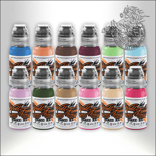 World Famous Ink Sandra Daukshta Hopeless Romance Set 12x30ml